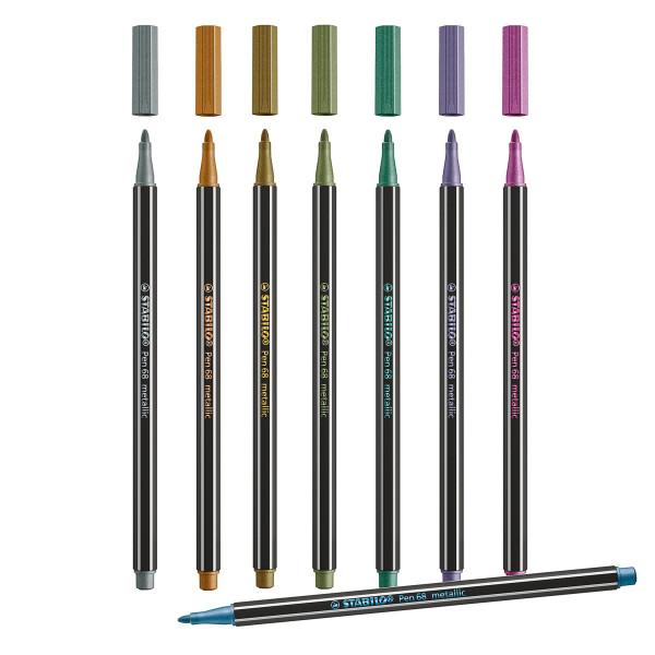 Einzelstift, Metallic | Stabilo Pen 68
