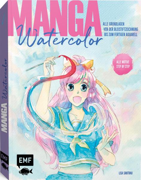 Manga Watercolor (Lisa Santrau)   EMF Vlg.