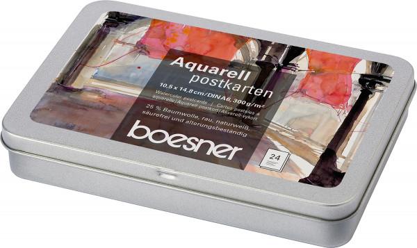 boesner Aquarell-Postkarten