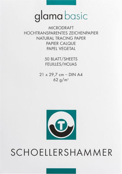 Schoellershammer Glama Microdraft Hochtransparentpapier-Block