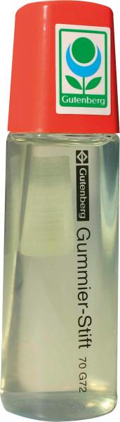 Gutenberg Gummierstift, 75 g-Flasche