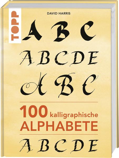 100 kalligraphische Alphabete