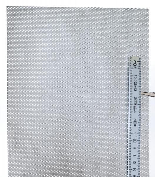 boesner Aluminium-Lochblech, Rundloch versetzt (BALLBRV1)