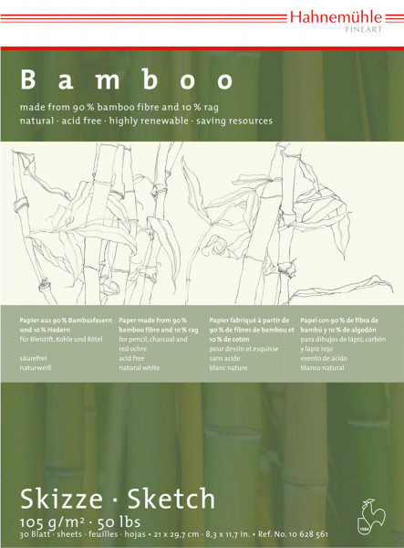 Hahnemühle Bamboo Skizzenblock