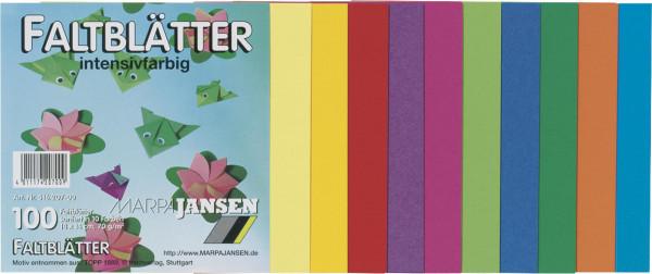 Marpa Jansen Origami Faltblätter intensivfarbig