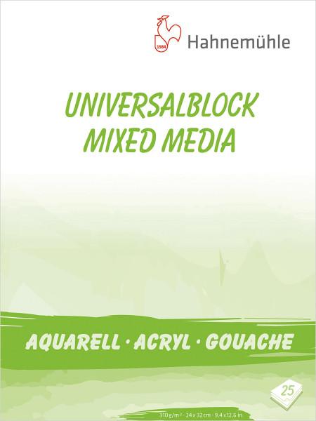 Hahnemühle Universalblock (Gouache, Acryl & Aquarell)