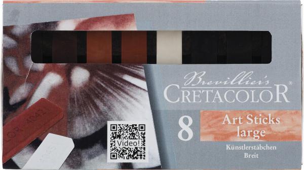 Brevillier's Cretacolor Künstlerstäbchen-Set