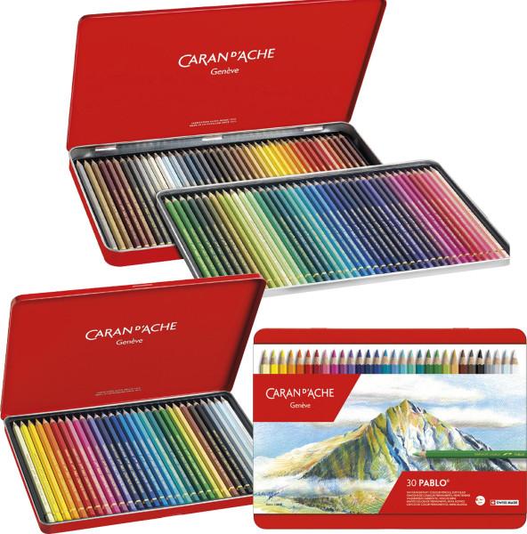 Caran d'Ache Pablo Künstler-Farbstift-Set