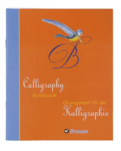 Brause Übungsheft für Kalligrafie