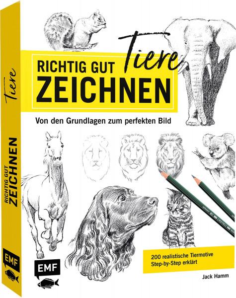 Edition Michael Fischer Richtig gut zeichnen – Tiere