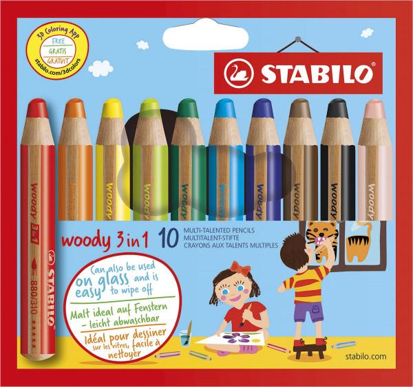 Stabilo Woody 3 in 1-Set