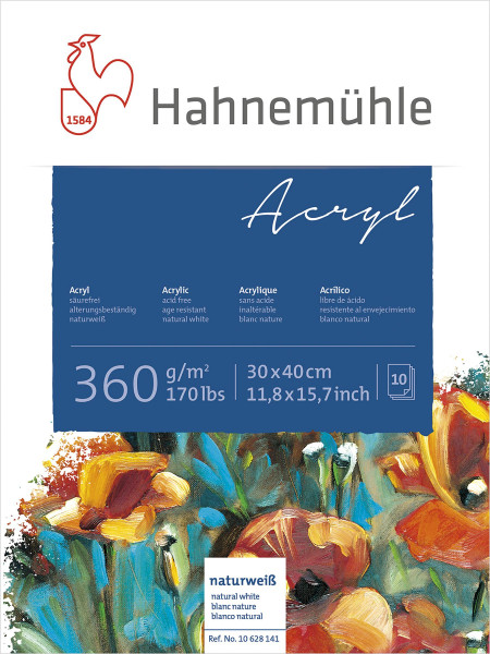 Hahnemühle Acrylmalblock 360 g/m²