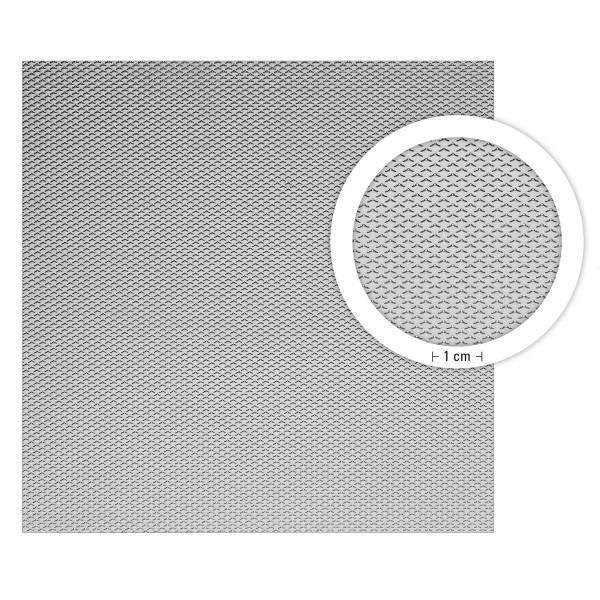 boesner Aluminium Modellbau-Waffelblech