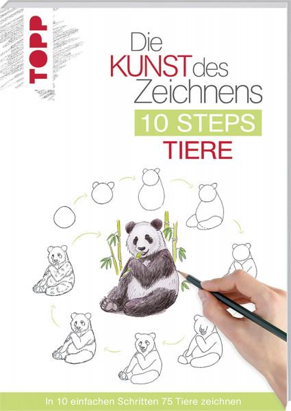 Die Kunst des Zeichnens: 10 Steps Tiere | frechverlag
