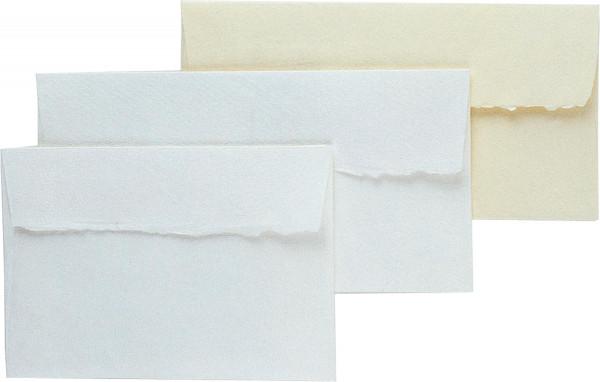 Silberburg Kuverts mit Büttenrand