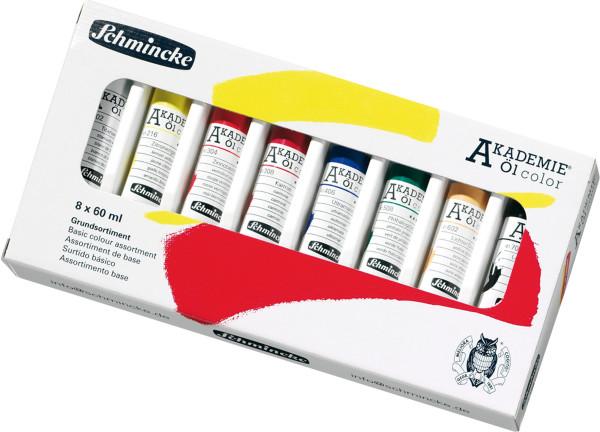 Schmincke Akademie Öl Color Grundsortiment