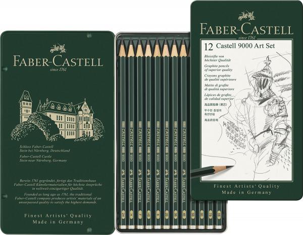 Faber-Castell Castell 9000 Art-Set
