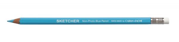 Caran d'Ache Sketcher Non-Photo Blue Pencil