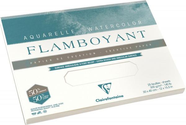Clairefontaine Flamboyant Aquarellblock
