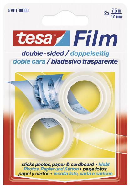 Tesa® Tesafilm doppelseitig Ersatzrolle