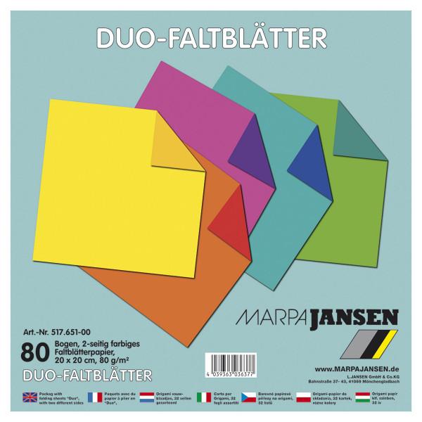Marpa Jansen Origami Duo-Faltblätter