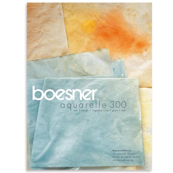 Block, Rau | boesner Aquarelle 300