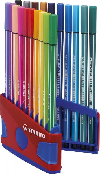 Stabilo Pen 68 Color Parade Sortiment in Box