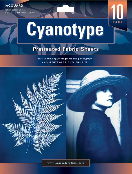 Cyanotype Baumwollbogen