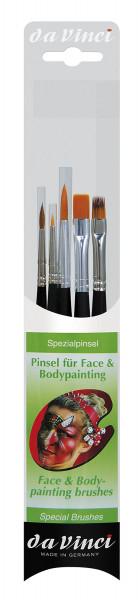 da Vinci Pinsel für Face & Bodypainting 5351