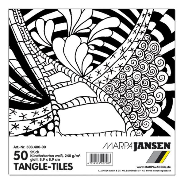 Marpa Jansen Tangle-Tiles