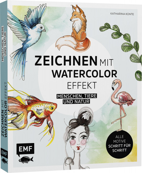 Edition Michael Fischer Zeichnen mit Watercolor Effekt