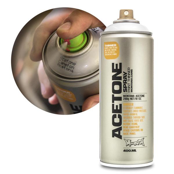 Montana Acetone Spray/Cap Cleaner