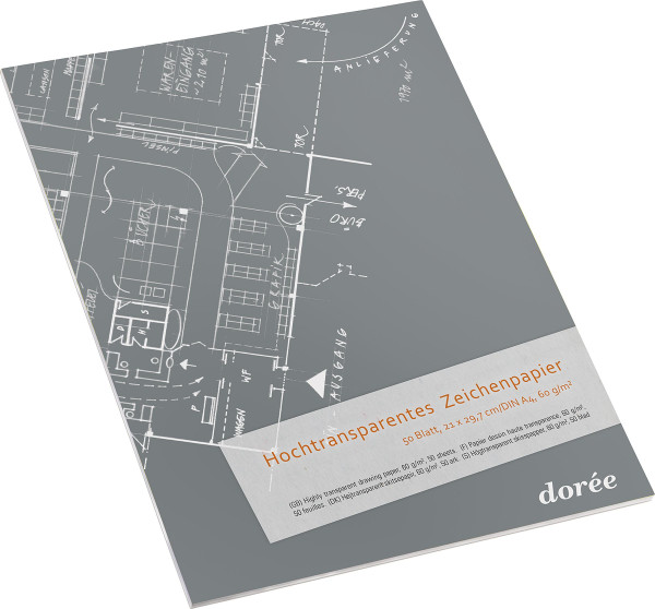 Dorée Hochtransparentpapier-Block
