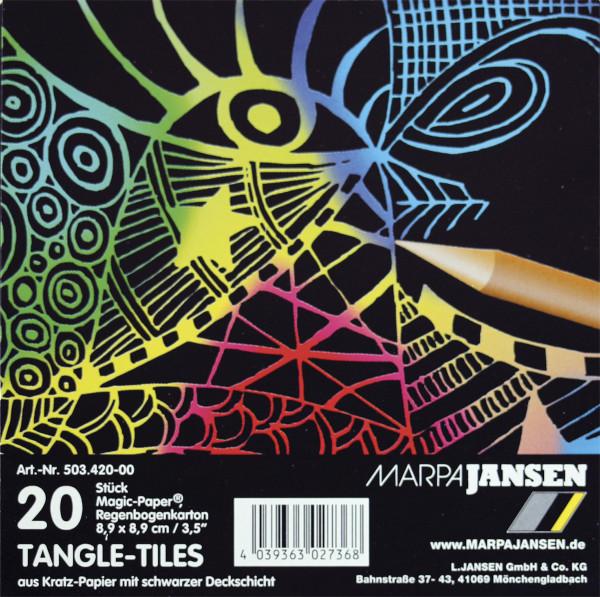 Marpa Jansen Magic Paper Tangle-Tiles