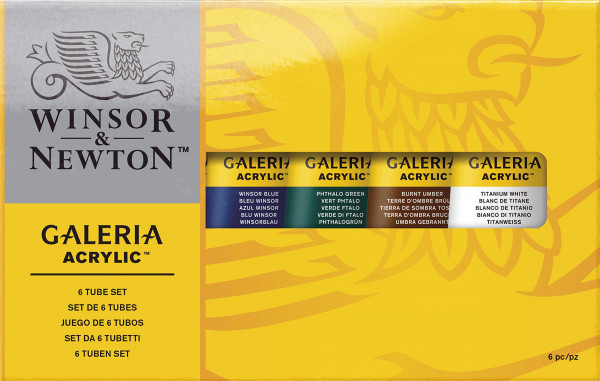Winsor & Newton Galeria Acrylic-Set