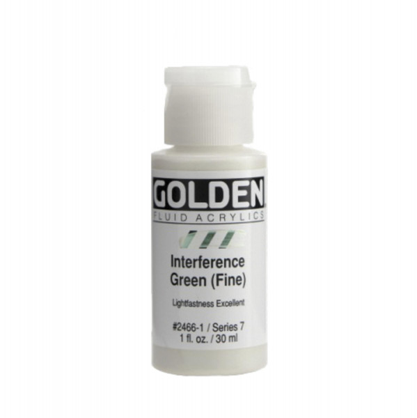 Golden Fluid Acrylics Interference Colors