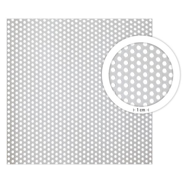 boesner Aluminium-Lochblech, Rundloch versetzt