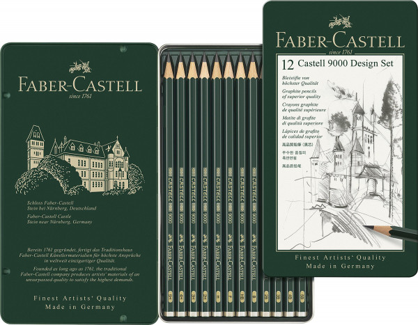 Faber-Castell Castell 9000 Design-Set