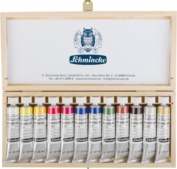 Schmincke Calligraphy Gouachefarben-Set