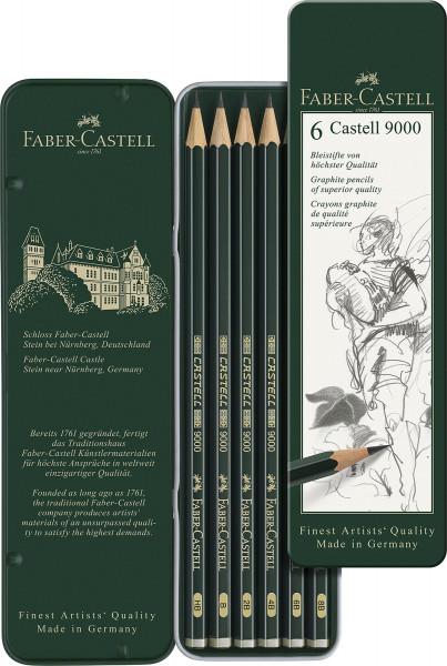Faber-Castell Graphite Aquarelle Bleistift-Set inkl Pinsel