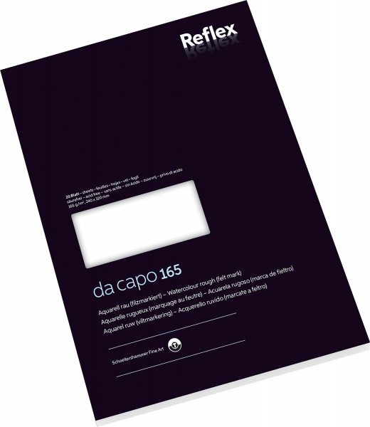 Schoellershammer Da Capo 165 Aquarellblock by Reflex