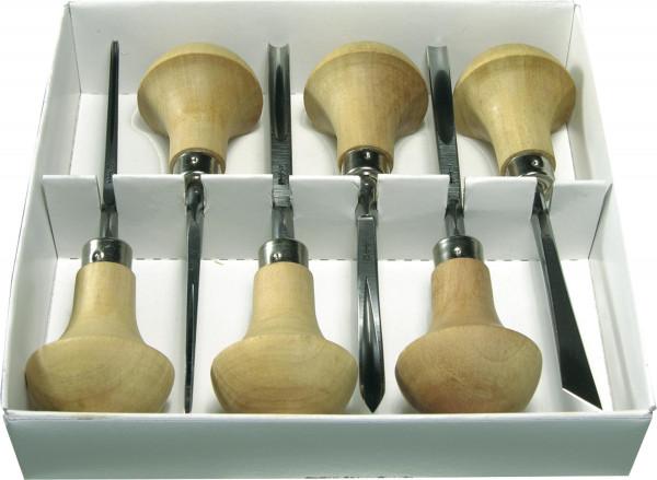 Pfeil Linolschnittmesser-Set D