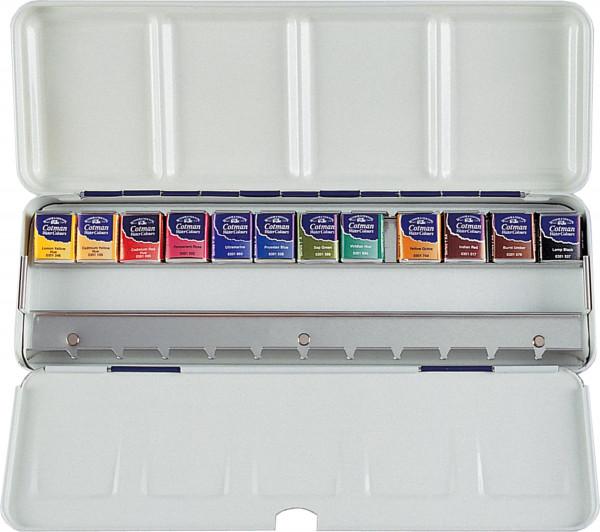 Winsor & Newton Cotman Aquarellfarbe Blue Box