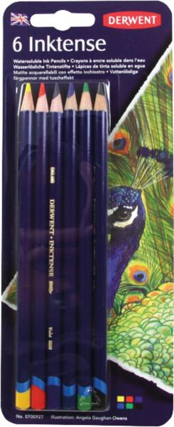 Derwent Inktense Tintenstift-Set | 6 Stifte