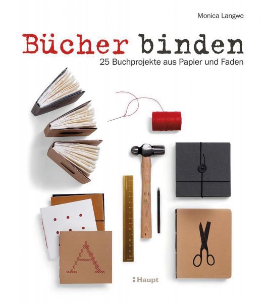 Bücher binden (Monica Langwe) | Haupt Vlg.
