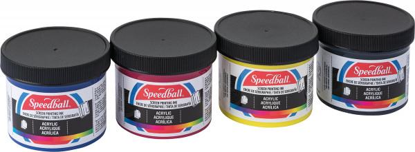 Speedball Acrylic Screen Printing Ink-Set