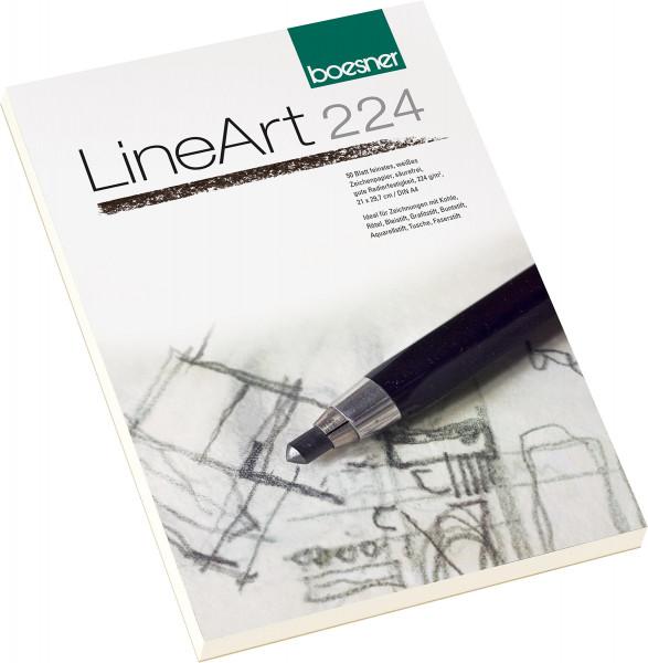 boesner LineArt 224 Zeichenblock