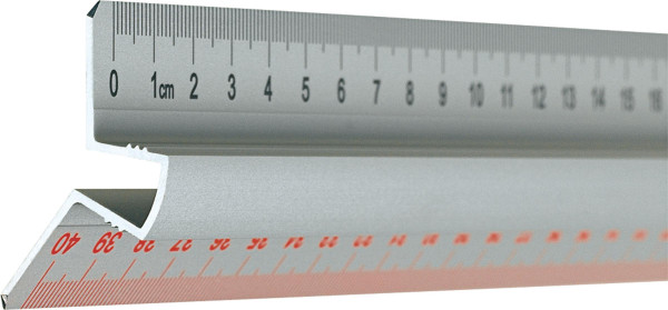 Clark Metall-Lineal mit Griff