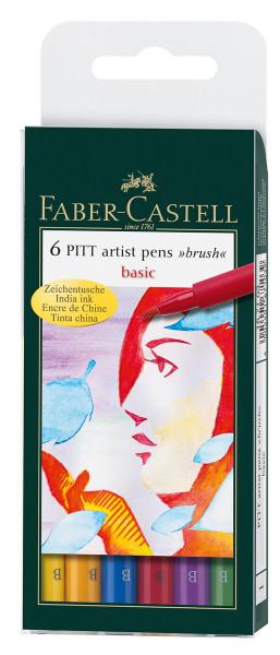 Faber-Castell Pitt Artist Pen Brush-Set