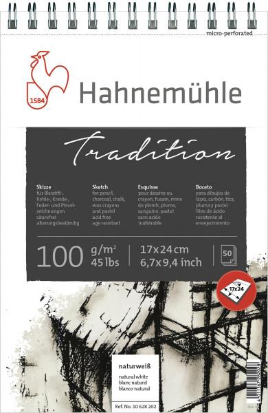 Hahnemühle Tradition Spiral-Skizzenblock